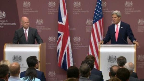 كيري: نطالب الأسد بتسليم مخزونه الكيماوي خلال أسبوع