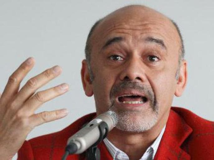 Red soles and Red Lines: Christian Louboutin turns heel on anti ...