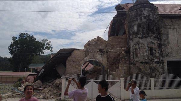 73 قتيلاً في زلزال بقوة 7.1 درجة ضرب وسط الفلبين
