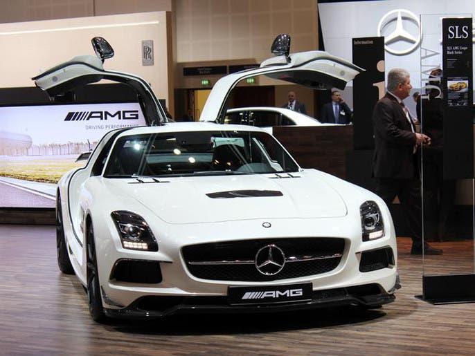 530351a2 1e79 4f8e b978 2e245b51a5be 4x3 690x515 صور ابرز السيارات فى معرض دبي  الدولي للسيارات 2013 فى عامه ال12