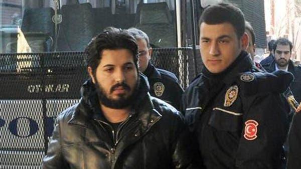 """رجل الاعمال """"رضا ضراب"""" اثناء اعتقاله"""