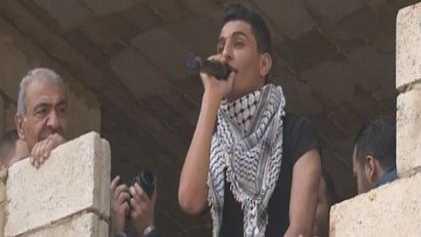 محمد عساف يصور أغنيته الجديدة في مخيم فلسطيني ببيروت