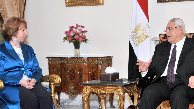 President of Egypt 2014 Egypt's Interim President Adly
