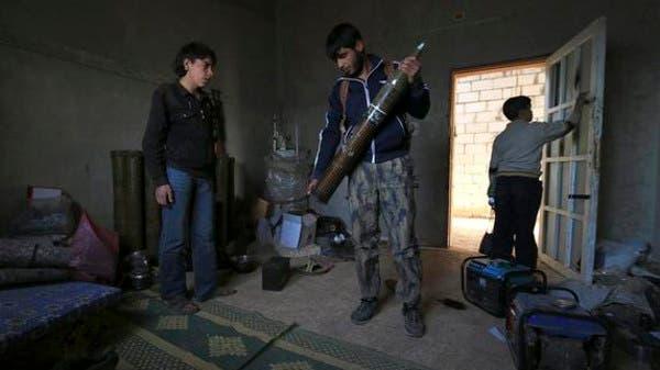 عناصر من الجيش السوري الحر