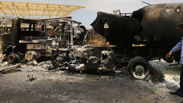 Libya Attack Images Libya Attack Destroys '90 of