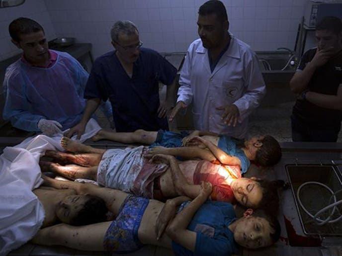 الحرب على غزة صور من الغارة على غزة يوم امس 2