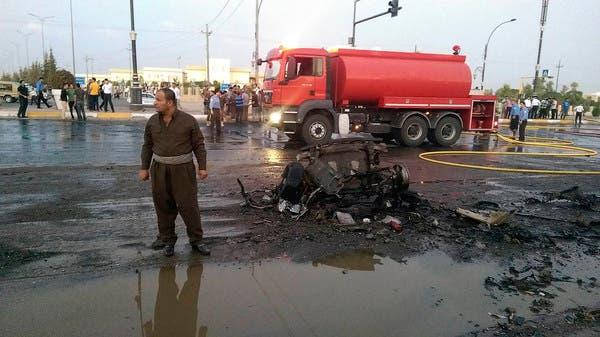 أربيل.. انفجار سيارة ملغومة قرب مبنى المحافظة