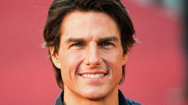 In pictures Tom Cruise...