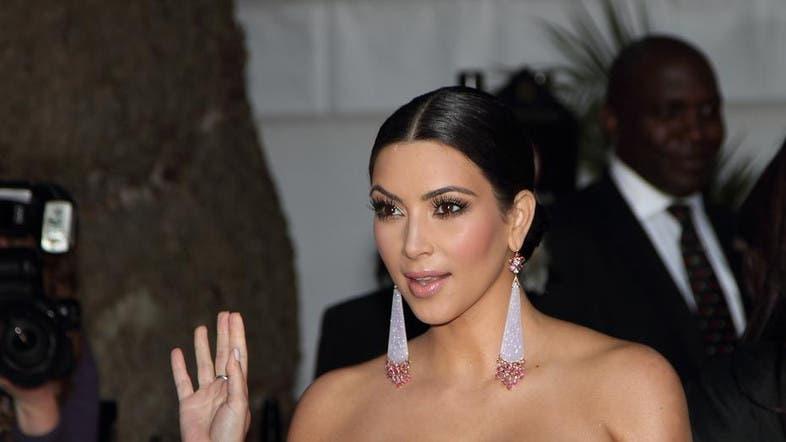 kim kardashian 39 s nude photos leaked in celebrity hacking al arabiya news. Black Bedroom Furniture Sets. Home Design Ideas
