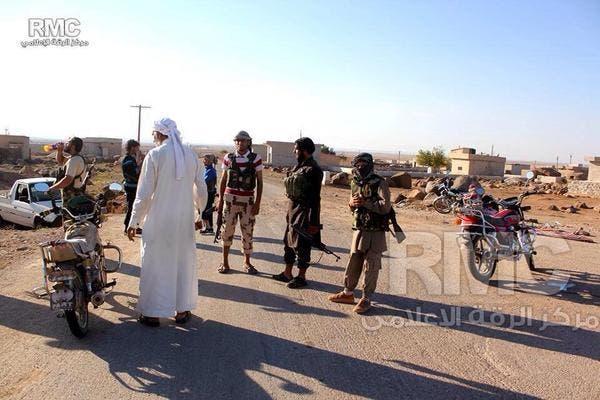 عالمي داعش عناصره داخل مدينة كوباني 5d80fafe-4ae7-4357-b
