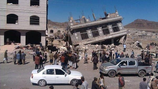 تدمير منزل ومنشأة اليمن أشهر