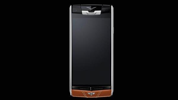 "Vertu for Bentley أول هاتف فاخر من توقيع ""بنتلي"""