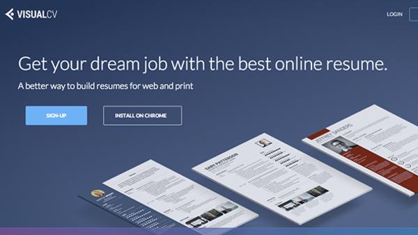 موقع لإنشاء السيرة الذاتية CV باستخدام تصاميم جاهزة