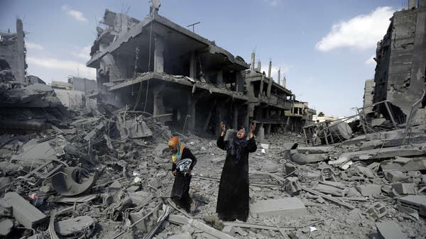دعوة للمانحين للوفاء بوعودهم في إعادة إعمار غزة  - العربية.نت   الصفحة الرئيسية