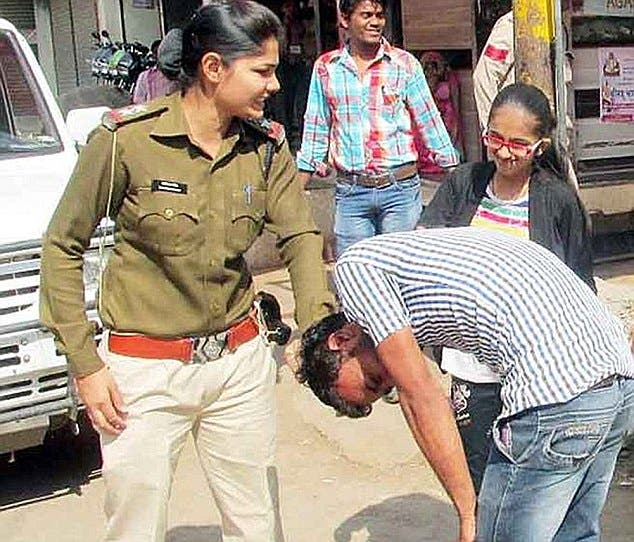 Indian college boy punishing her gf 8