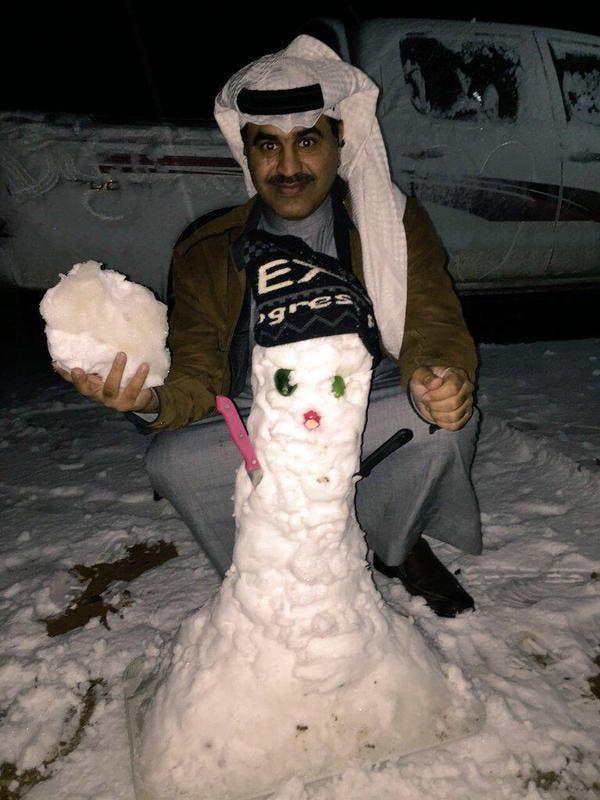 بالصور.. كيف استقبلت السعودية الثلوج؟