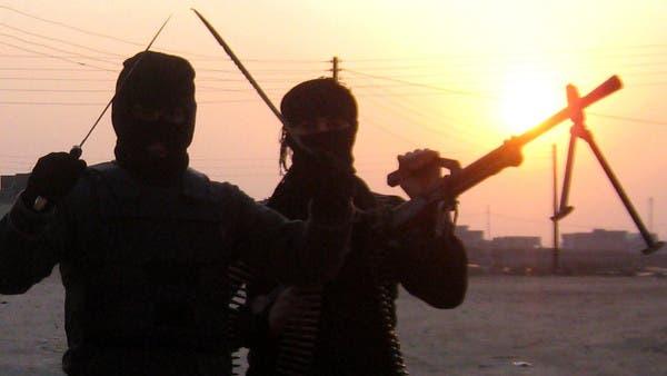 بالصور.. داعش يعدم ويستبدل اللون البرتقالي بالأزرق