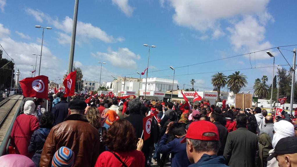 """بدء مسيرة تونس """"ضد الإرهاب"""" بمشاركة زعماء العالم 491654da-e566-44d8-89b7-f042536327b2"""