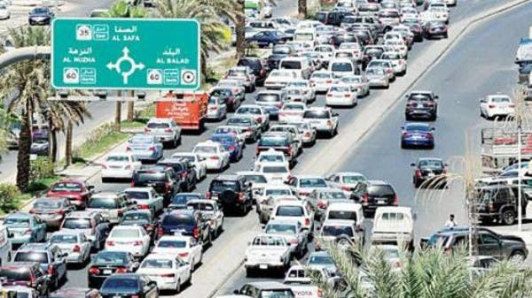 Traffic in Jeddah