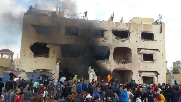مقتل 12 وإصابة 34 مدنيا وعسكريا بتفجيرات في #سيناء A8367cd6-8f4d-46fe-a964-8ecaa3466632_16x9_600x338