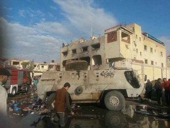 مقتل 12 وإصابة 34 مدنيا وعسكريا بتفجيرات في #سيناء Bfe39b35-3c5d-4373-8977-8680861ceeb9