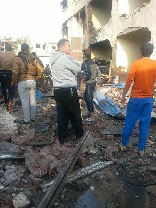 مقتل 12 وإصابة 34 مدنيا وعسكريا بتفجيرات في #سيناء F80cfce4-0940-4566-905f-6472fbe8174a