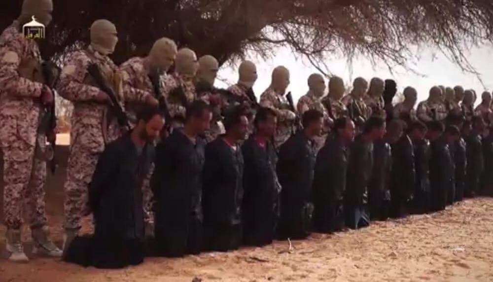 بالفيديو.. داعش يعدم 28 إثيوبياً مسيحياً في ليبيا A95a4607-1894-4b6a-96a3-4d5d724ed3e3