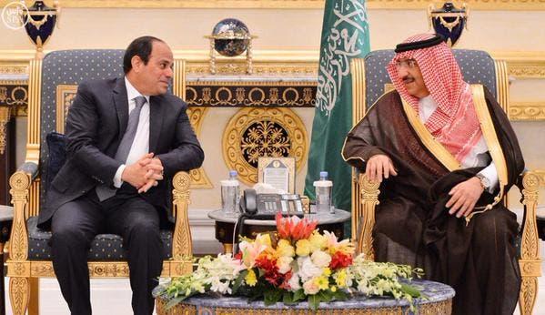 الملك سلمان يلتقي عبدالفتاح السيسي في #قصر_العوجا 340f721f-7b68-42e4-9532-9367ac89ab3e