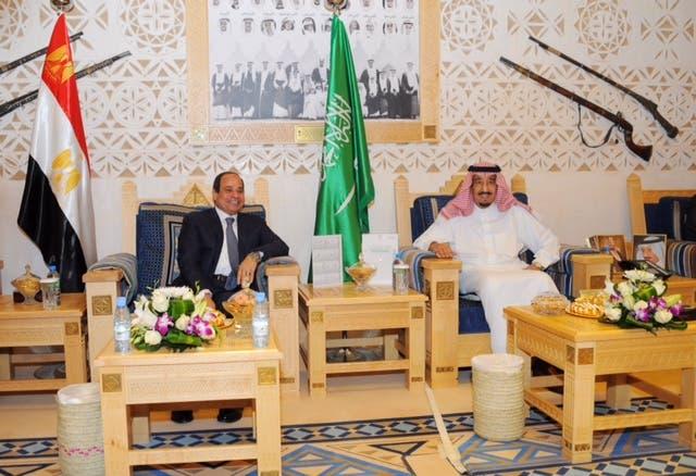 الملك سلمان يلتقي عبدالفتاح السيسي في #قصر_العوجا 37804fb4-730b-49e0-ae07-dd931e951a87