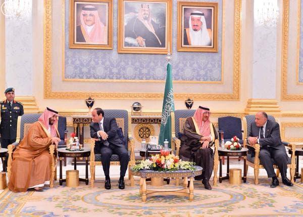 الملك سلمان يلتقي عبدالفتاح السيسي في #قصر_العوجا 755f8250-144e-417a-87fa-6cdc56100ccd