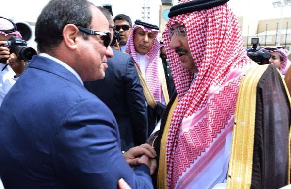 الملك سلمان يلتقي عبدالفتاح السيسي في #قصر_العوجا 983ec69a-a3ad-4b22-be0d-6f395b4f33a7