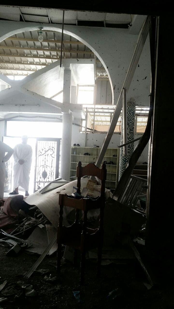 """العربية"""" تبث صوراً من داخل مسجد الإمام علي بالقديح 1d2c7b94-4c74-4527-9d53-17753da444fb"""