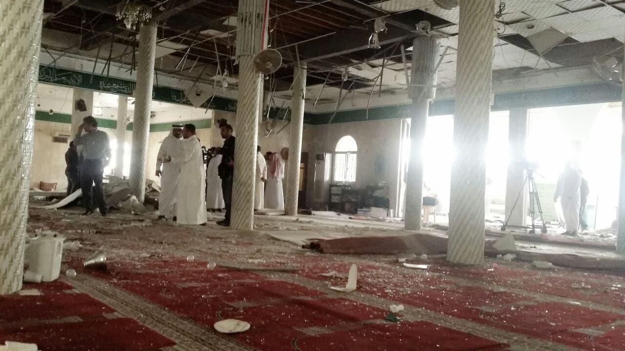 """العربية"""" تبث صوراً من داخل مسجد الإمام علي بالقديح 773c7bee-1d53-443d-a8c5-b0e97468d526"""