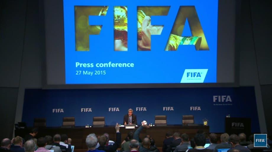 اعتقالات الفيفا.. قطر ستنظم مونديال 2022 Aa5a15e0-337c-4683-abb4-85ec8a3f207e