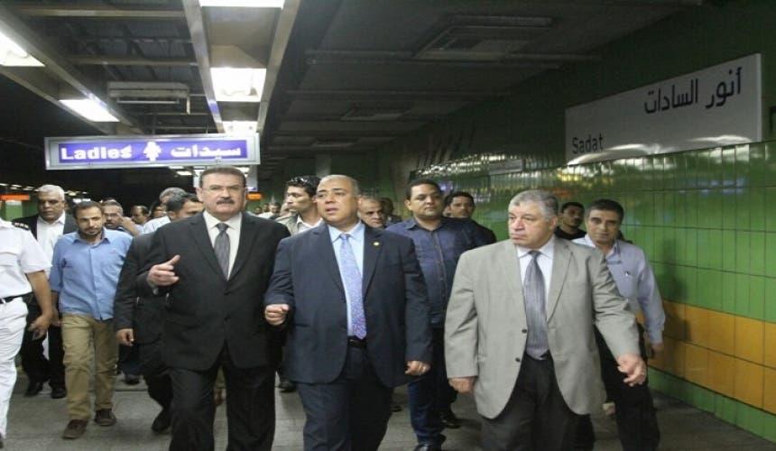 المصريون يستقبلون افتتاح محطة مترو التحرير بالزغاريد 7242b64c-af97-417a-a387-c1b2ba1f2f8b