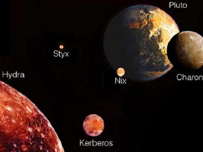 أول صور قريبة للكوكب القزم