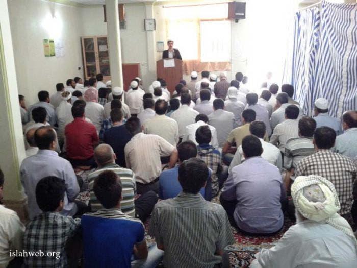 مصلى السنة في طهران قبل الهدم