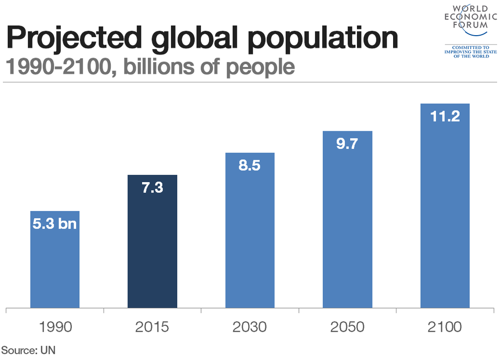 What will a sustainable world look like in 2050