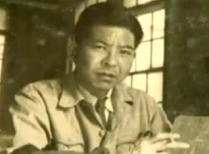 صورة له في العام الذي نجا فيه من قنبلتي هيروشيما وناغازاكي النوويتين