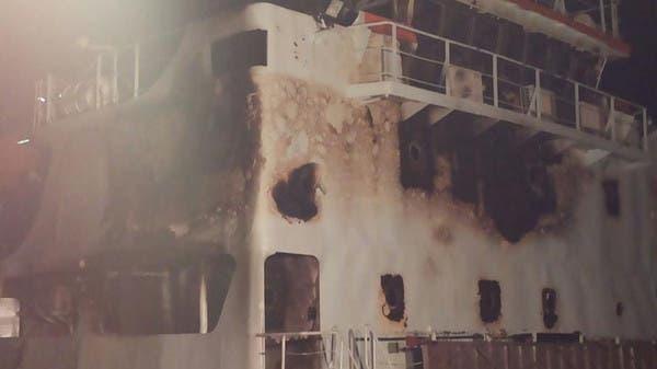بالصور.. السيطرة على حريق بسفينة عابرة لقناة السويس F8e5c2dc-46a2-44af-993a-85992bbc47d6_16x9_600x338