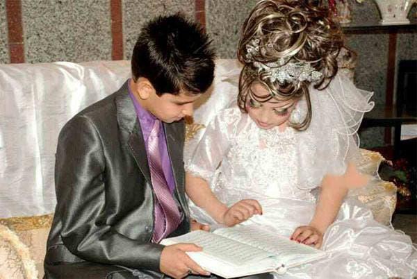 Iranian Boy 14 Marries 10 Year Old Girl Al Arabiya News