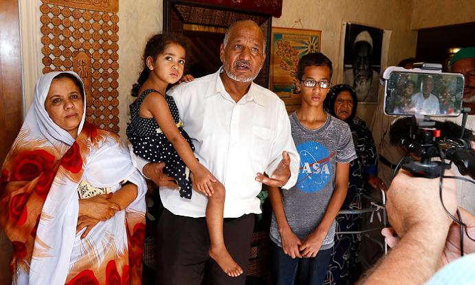 الطالب و عائلته السودانية