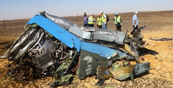 هذا الجزء من الطائرة المنكوبة تم العثور عليه بعيدا 14 كيلومترا عن قمرة القيادة