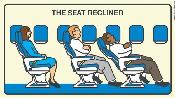 تعرف ركاب الطائرات الأكثر إزعاجاً!