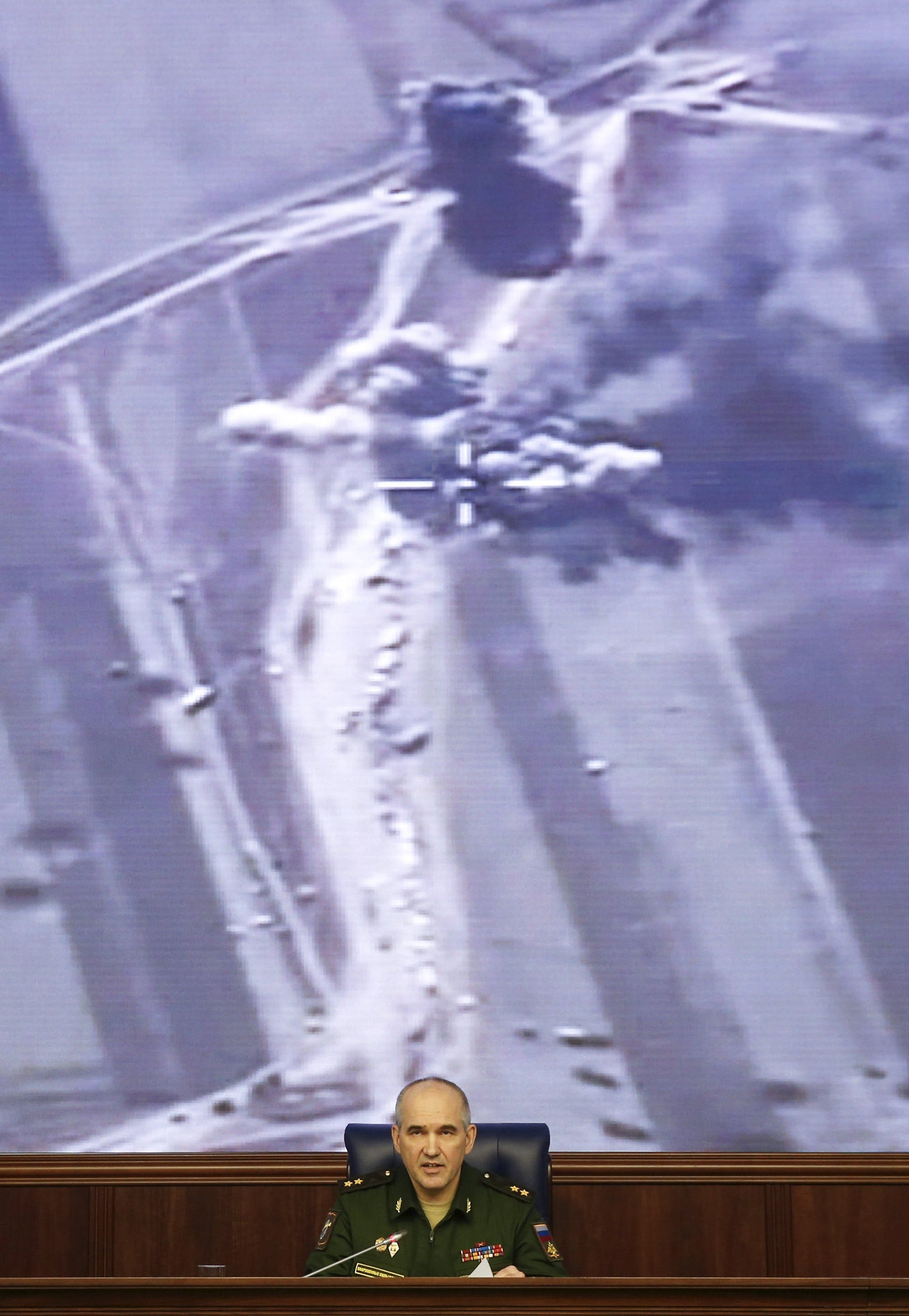 Russia  strikes ISIS oil tankers thumbnail