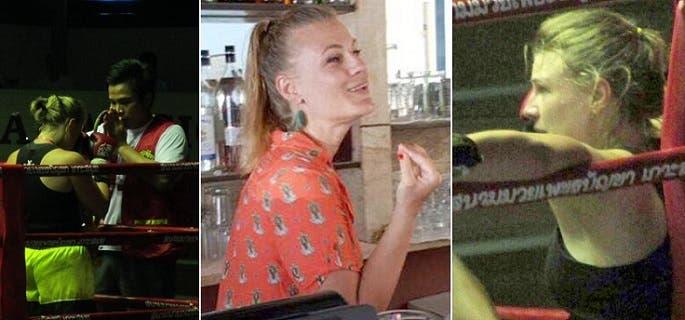 أنجيلا التي تهوى الملاكمة، في 3 صور من حسابها بفيسبوك