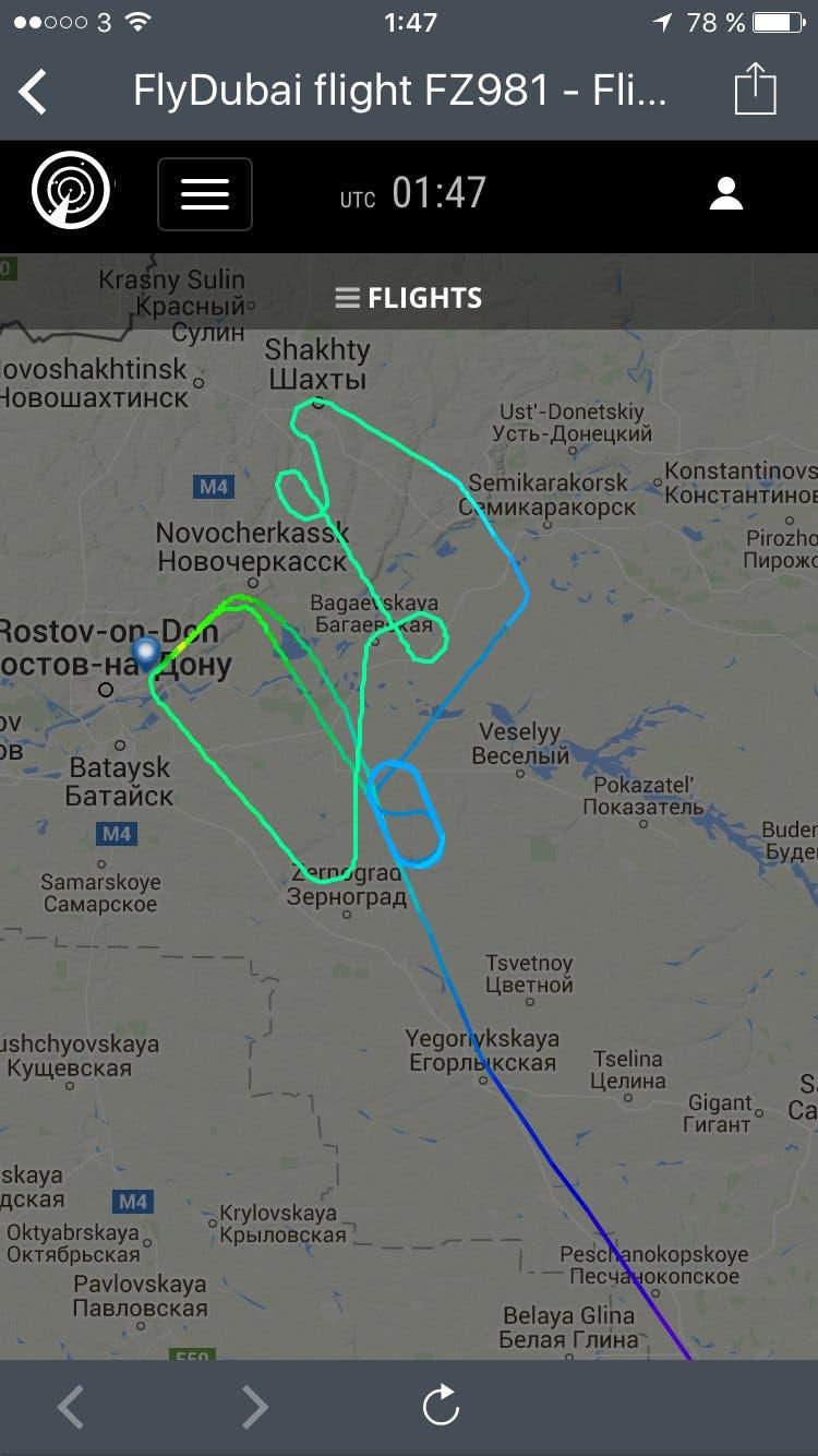 مقتل 62 شخصا في تحطم طائرة ركاب لشركة فلاي دبي جنوبي روسيا 90dd4304-3b29-4276-a92e-9371727bbb13