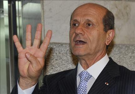 وزير الداخلية  اللبناني مروان شربل