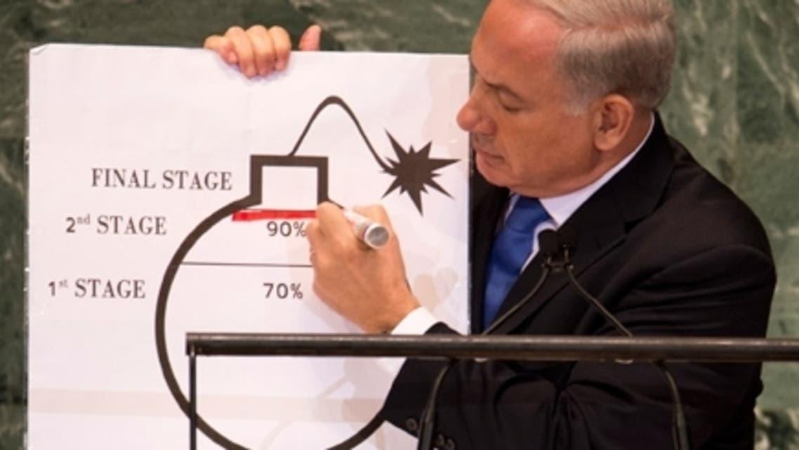 """قنبلة نتانياهو أو \\""""بيبي بمب\\"""" تتصدر صحف اسرائيل"""