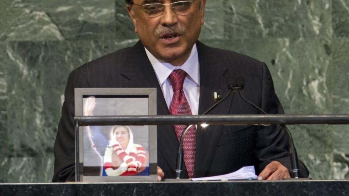 Pakistan's President Asif Ali Zardari demanded U.N. action. (Reuters)
